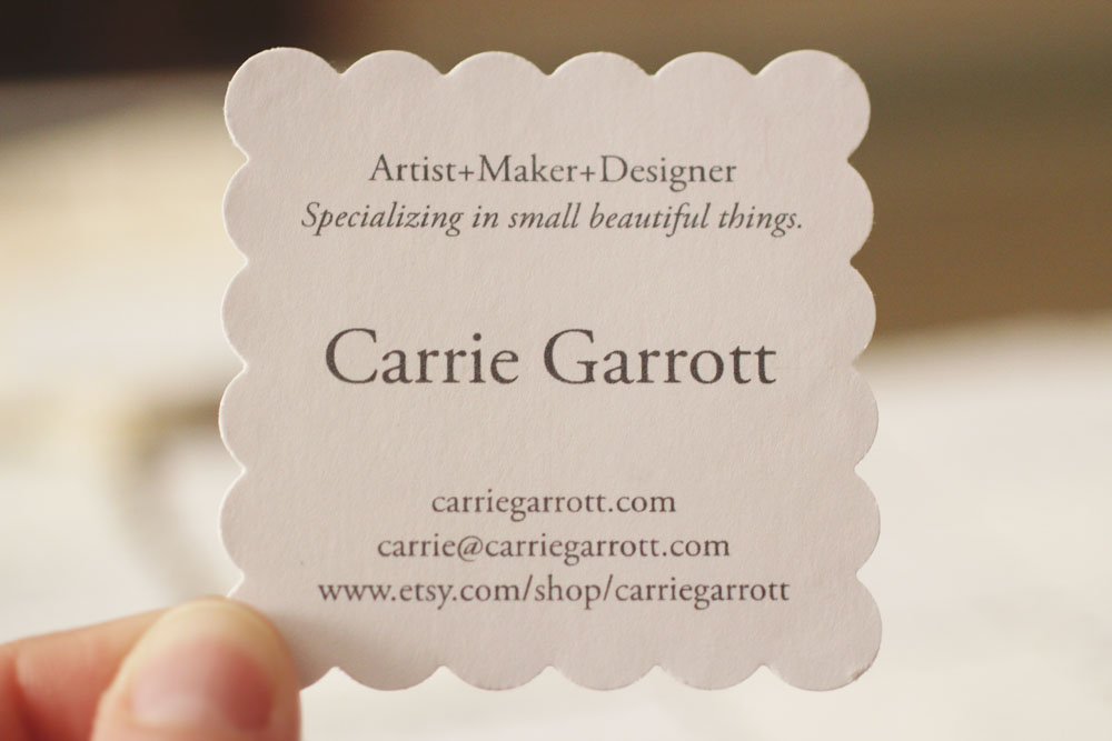 Blog - Carrie Garrott